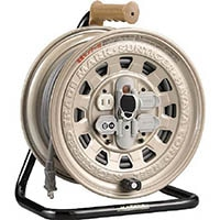 【CAINZ DASH】ハタヤ サンタイガーリール 温度センサー付コードリール 単相100V20M