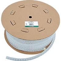 【CAINZ DASH】パンドウイット 電線保護チューブ スリット型スパイラル パンラップ 束線径12.0Φmm 61m巻き 難燃性白 PW50FR−TY