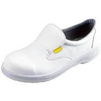 【CAINZ DASH】シモン 静電安全靴 短靴 7517白静電靴 23.5cm