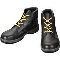 【CAINZ DASH】シモン 静電安全靴 編上靴 7522黒静電靴 24.0cm