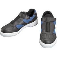 【CAINZ DASH】シモン プロスニーカー 短靴 8818黒/ブルー 23.5cm