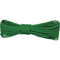【CAINZ DASH】ユタカメイク ロープ PEロープグリーン 4φ×10m