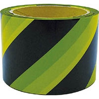 【CAINZ DASH】ユタカメイク テープ 標識テープ(トラ) 70mm×50m