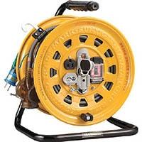 【CAINZ DASH】ハタヤ 逆配電型ブレーカーリール マルチテモートリール 単相100Vアース付 27+6m