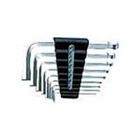 【CAINZ DASH】KTC ハイグレードボールポイントL形スタンダード六角棒レンチセット[9本組]