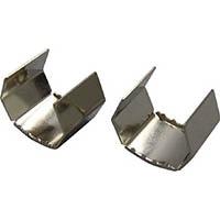 【CAINZ DASH】ユタカメイク 金具 端末爪 15mm×15mm金具 2個入り