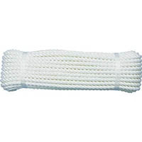 【CAINZ DASH】ユタカメイク ロープ ビニロンS作業用ロープ 9φ×20m