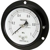 【CAINZ DASH】長野 普通形圧力計 D枠埋込型 Φ60最小目盛0.002