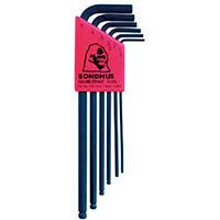 【CAINZ DASH】ボンダス ボールポイント・L−レンチ ロング セット6本組(1.5−5mm)