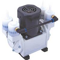 【CAINZ DASH】ULVAC 単相100V ダイアフラム型ドライ真空ポンプ 排気速度24/30