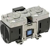【CAINZ DASH】ULVAC 単相100V ダイアフラム型ドライ真空ポンプ 排気速度12/24