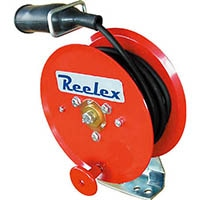 【CAINZ DASH】Reelex 手動巻アースリール 2.0SQ×10m 50Aアースクリップ付