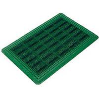 【CAINZ DASH】コンドル (屋外用マット)エバックブラシハードマットYL #6 緑