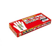 【CAINZ DASH】エステー NO940ポリエチレン使い切り手袋L 100枚入