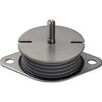 【CAINZ DASH】Taica 防振材 インシュレーター プレート(ゴム被覆)鉄 25〜35kg