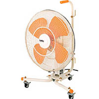 【CAINZ DASH】スイデン キャスター扇(送風機フロアファン)ハネ45cm首振式