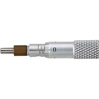 【CAINZ DASH】SK マイクロメータヘッド 測定範囲0〜5mm ストレート