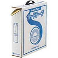 【CAINZ DASH】緑十字 ラインテープ(ガードテープ) 白 50mm幅×100m 屋内用