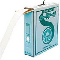 【CAINZ DASH】緑十字 ラインテープ(ガードテープ) 白 再剥離タイプ 50幅×100m 屋内用