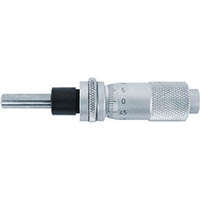 【CAINZ DASH】SK マイクロメータヘッド 測定範囲0〜13mm ストレート・クランプ付