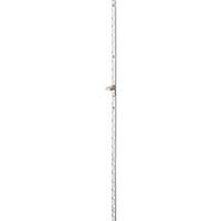 【CAINZ DASH】スガツネ工業 アルミ製面付棚柱 AP−DM1820(120−030−086)
