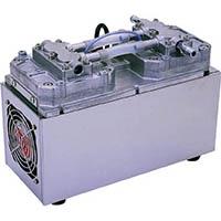 【CAINZ DASH】ULVAC 単相100V ダイアフラム型ドライ真空ポンプ 全幅153mm