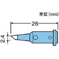【CAINZ DASH】グット 替こて先2.4C型GP510用
