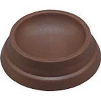 【CAINZ DASH】光 キャストップ 40MM双輪キャスター用 茶 (4個入)