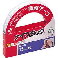 ニチバン 両面テープ ナイスタック 15mm×20m NW-15
