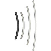 【CAINZ DASH】スガツネ工業 アルミ製弓形ハンドルSOR型400ブラック(100−010−963