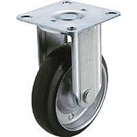 【CAINZ DASH】ユーエイ 産業用キャスター固定車 130径ゴム車輪