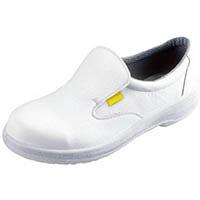 【CAINZ DASH】シモン 静電安全靴 短靴 7517白静電靴 24.0cm