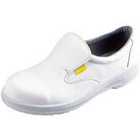 【CAINZ DASH】シモン 静電安全靴 短靴 7517白静電靴 24.5cm