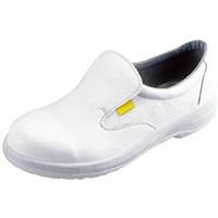 【CAINZ DASH】シモン 静電安全靴 短靴 7517白静電靴 25.0cm