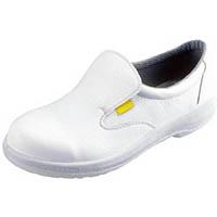 【CAINZ DASH】シモン 静電安全靴 短靴 7517白静電靴 25.5cm