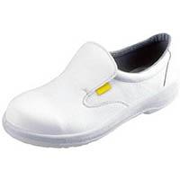 【CAINZ DASH】シモン 静電安全靴 短靴 7517白静電靴 27.0cm