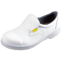 【CAINZ DASH】シモン 静電安全靴 短靴 7517白静電靴 27.5cm