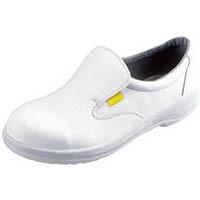 【CAINZ DASH】シモン 静電安全靴 短靴 7517白静電靴 28.0cm