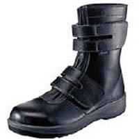 【CAINZ DASH】シモン 安全靴 長編上靴 7538黒 25.0cm