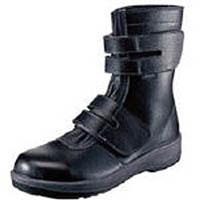 【CAINZ DASH】シモン 安全靴 長編上靴 7538黒 25.5cm