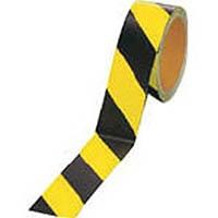 【CAINZ DASH】ユニット 蛍光反射テープ 黄/黒 黄部反射 45mm幅×10m巻