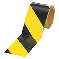 【CAINZ DASH】ユニット 蛍光反射テープ 黄/黒 黄部反射 90mm幅×10m巻