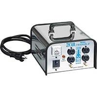 【CAINZ PRO】ハタヤ ミニトランスル 降圧型 単相200V→100・115V 2.0KVA LV02CS