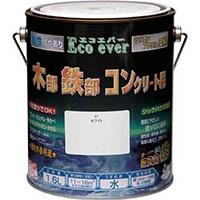 ニッペ 水性 Eco ever エコエバー シリコンアクリル塗料 1.6L 01ホワイト