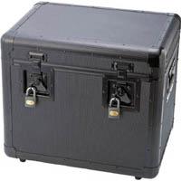 【CAINZ DASH】TRUSCO 万能アルミ保管箱 黒 480X360X410