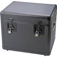 【CAINZ DASH】TRUSCO 万能アルミ保管箱 黒 543X410X457