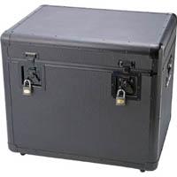 【CAINZ DASH】TRUSCO 万能アルミ保管箱 黒 610X457X508