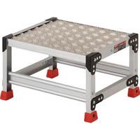 【CAINZ DASH】TRUSCO 作業用踏台 アルミ製・縞板タイプ 天板寸法500X400XH300