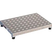 【CAINZ DASH】TRUSCO 低床用アルミ製ステップ 600X450XH90〜120