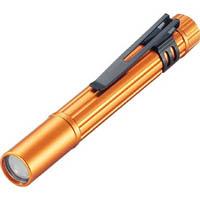 【CAINZ DASH】TRUSCO アルミLEDライト 1球 10ルーメン ペンタイプ オレンジ